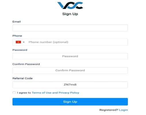 Sàn VCC Exchange